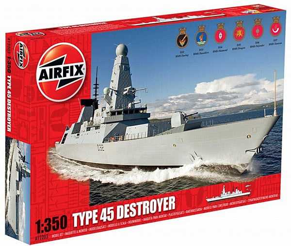 1:350 HMS Daring Destroyer