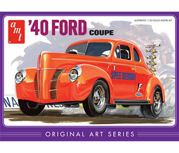 1:25 '40 Ford Coupe