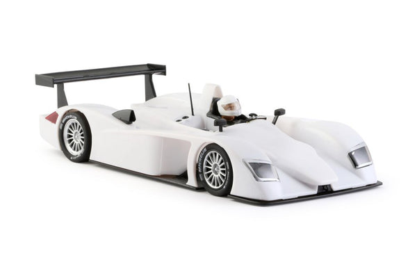 Audi R8 LMP Undecorated White