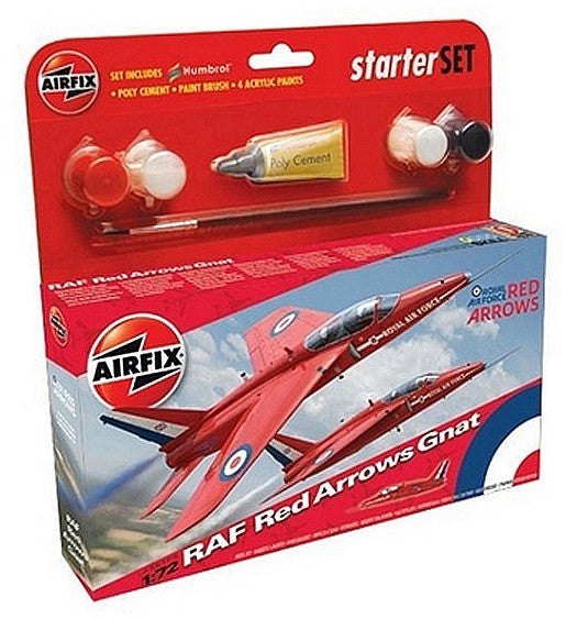 1:72 UK Red Arrow Gnat Set - A55105