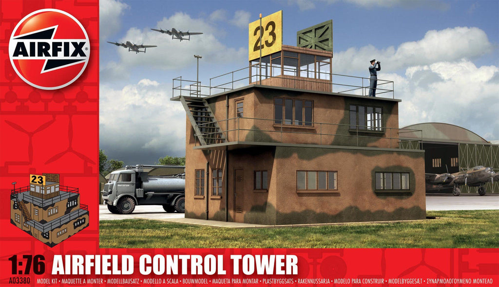 1:76 Control Tower - A03380