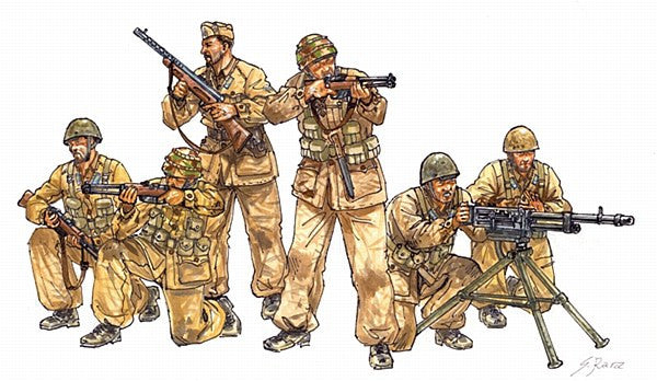 1:35 ITA WWII Paratroopers