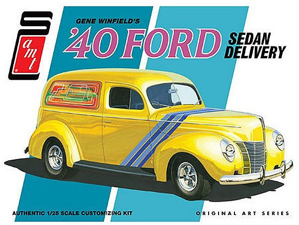 1:25 '40 Ford Delivery Sedan