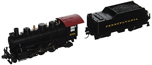 Bachmann Industries PRR Prairie 2-6-2 Locomotive with Smoke & Tender