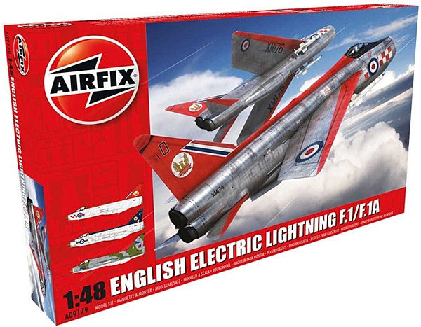 1:48 English Electric Lightning F1/F1A/F2/F3 – A09179