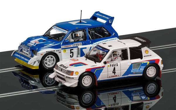 Classic Collection Peugeot 205 T16 E2 & MG Metro 6R4 - C3590A