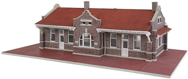 HO Brick Mission Depot Kit