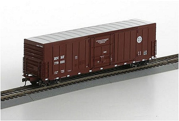 HO 50' PC&F Rib Side Box BNSF