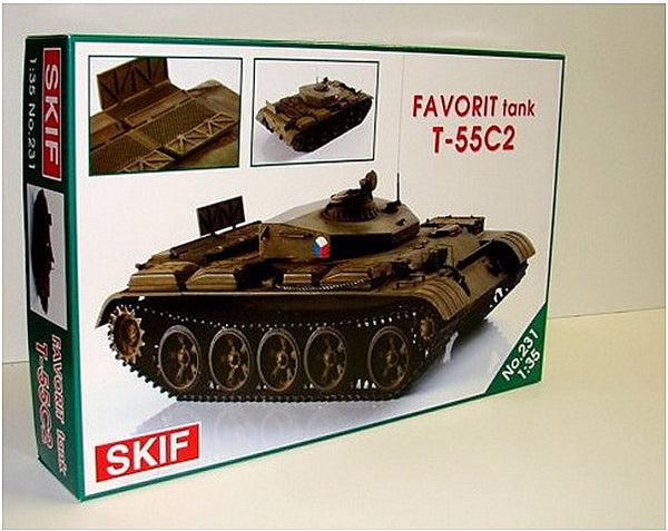 1:35 CZH T55C2 Favorit Tank