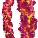 DOUBLE Lei - Yellow Sonia Orchid Lei