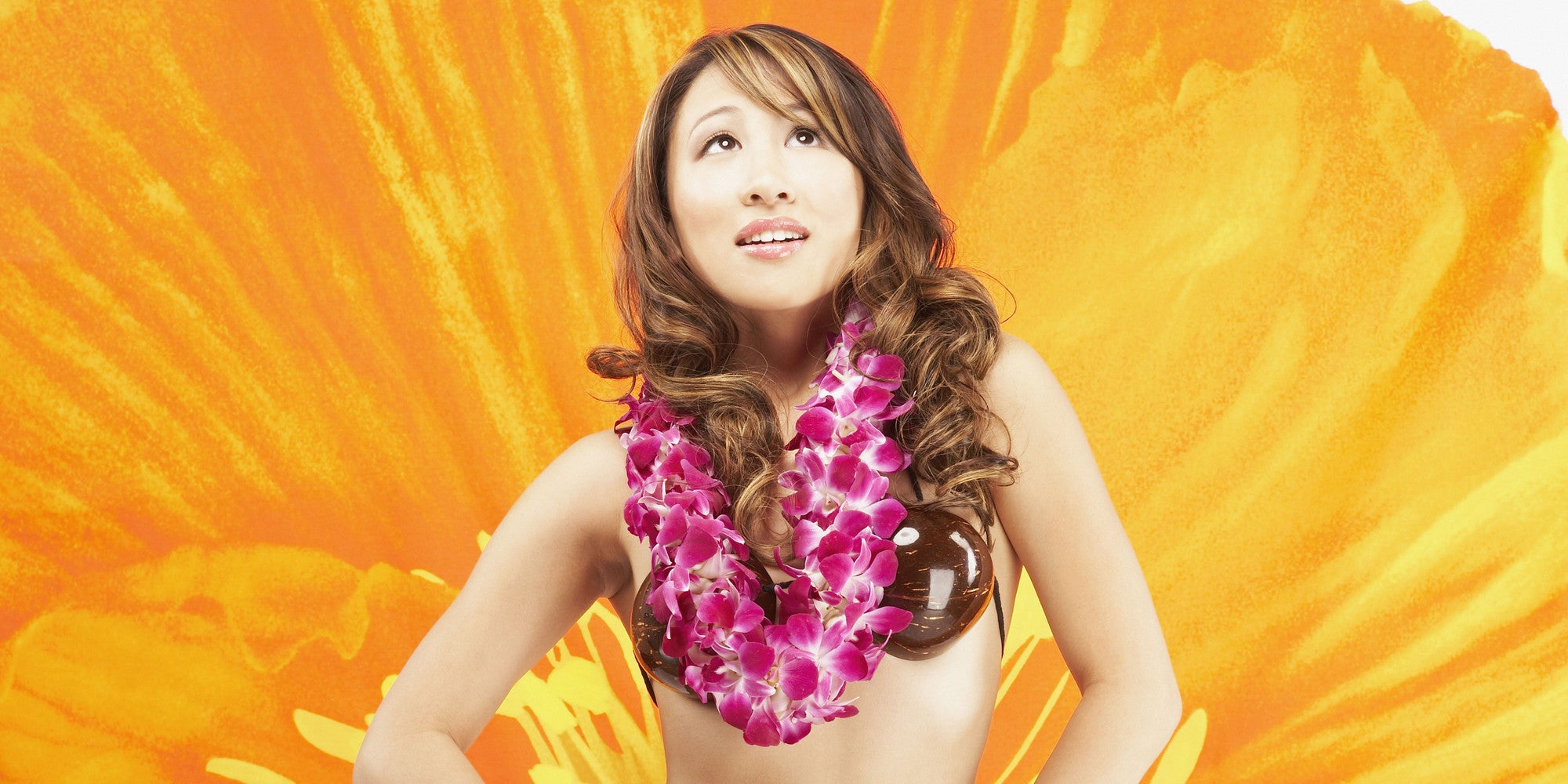 Orchid LEI can hula anywhere