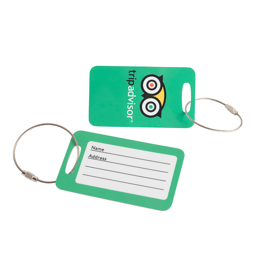Luggage Tag Set 2 The TripAdvisor Store