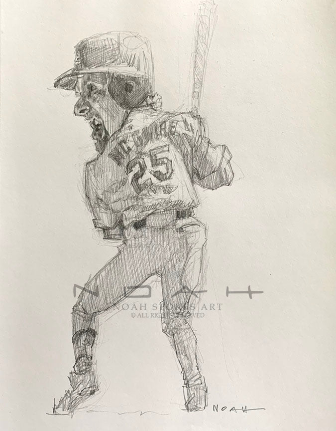 Mark McGwire Sketch