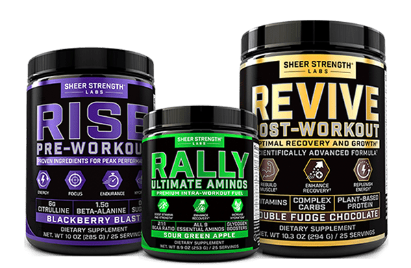 Sheer Strength Labs Complete Workout Stack