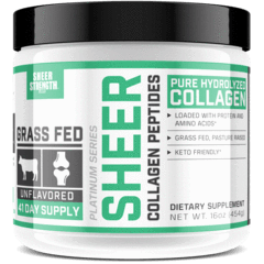 Sheer Strength Labs Health & Wellness Ashwagandha | Keto Creamer | Collagen Peptides