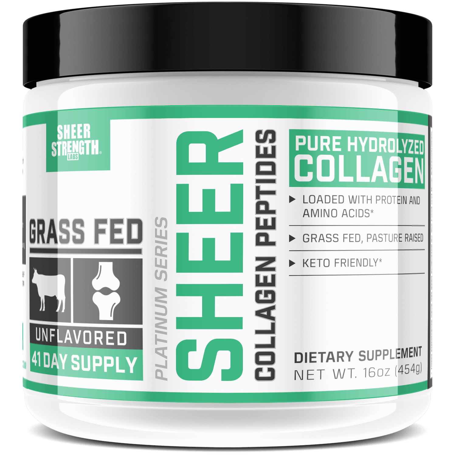 Sheer Pure Hydrolyzed Collagen Peptides Powder