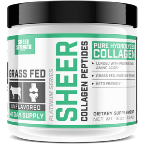 Sheer Strength Labs Health & Wellness Sheer Pure Hydrolyzed Collagen Peptides Powder