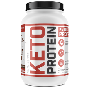 Sheer Strength Labs Keto Chocolate 20 Serving Tub Sheer Keto Protein | Low Carb Ketogenic Friendly Formula