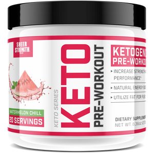 Sheer Strength Labs Keto Sheer Keto Pre-Workout Supplement