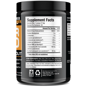 Sheer Strength Labs Muscle Builder Sheer Build Post Workout Supplement (Watermelon)