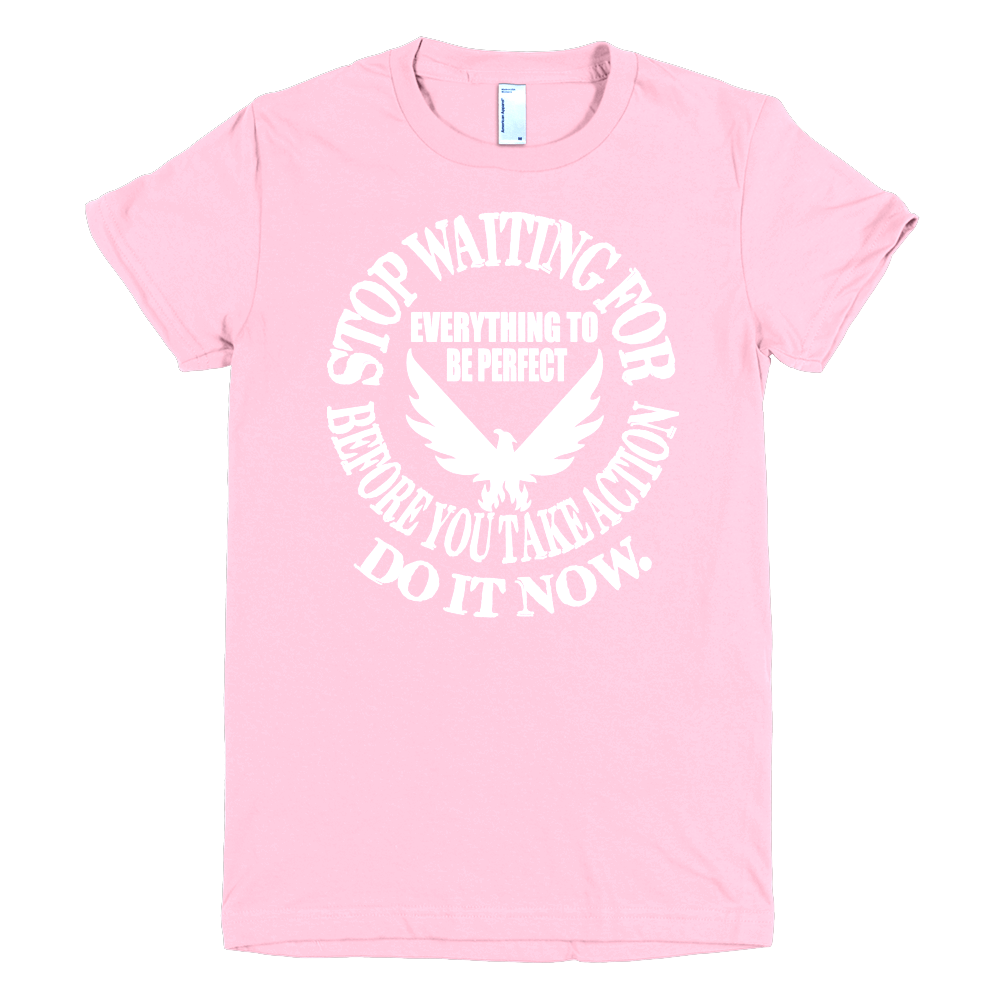 White t shirt for design - Do It Now T Shirt For Women With White Design