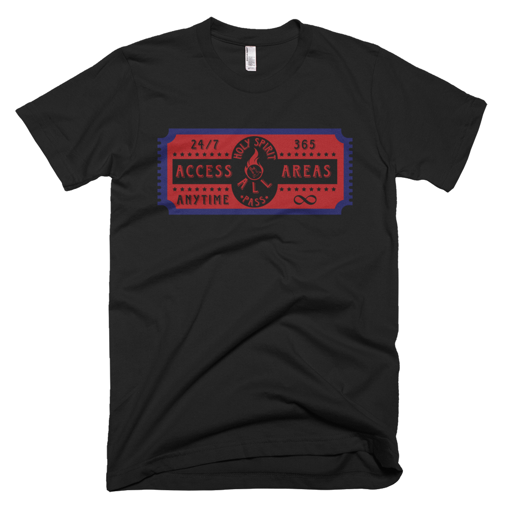 Holy Spirit Access All Areas T-Shirts For Men - The Good ...