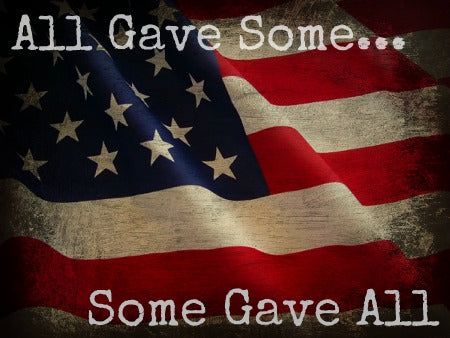 Law Enforcement and Military Discounts - All gave some, some gave all!
