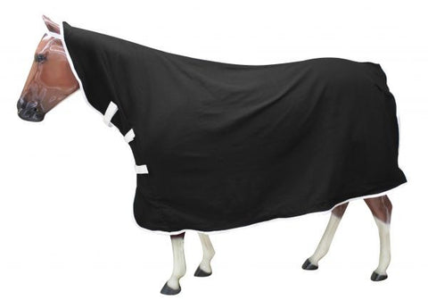 Contoured Polar Fleece Horse Cooler with Velcro
