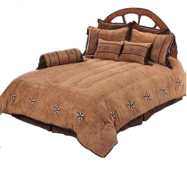 Patched Star Bedding Set