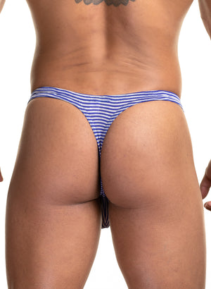 SP30 Micro Stripe Thong SALE