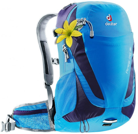 Deuter Airlite 26 SL slim line day hiking backpack cool blue blueberry women