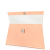 Elize Flat Stingray Clutch - Intense Blush