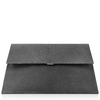 Elize Flat Stingray Clutch - Deep Grey