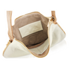 Lindsay Expandable Hobo - Bone/Bronze