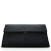 Louise Stingray Clutch - Midnight Black