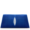 Louise Stingray Clutch - Cobalt