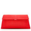 Louise Stingray Clutch - True Red