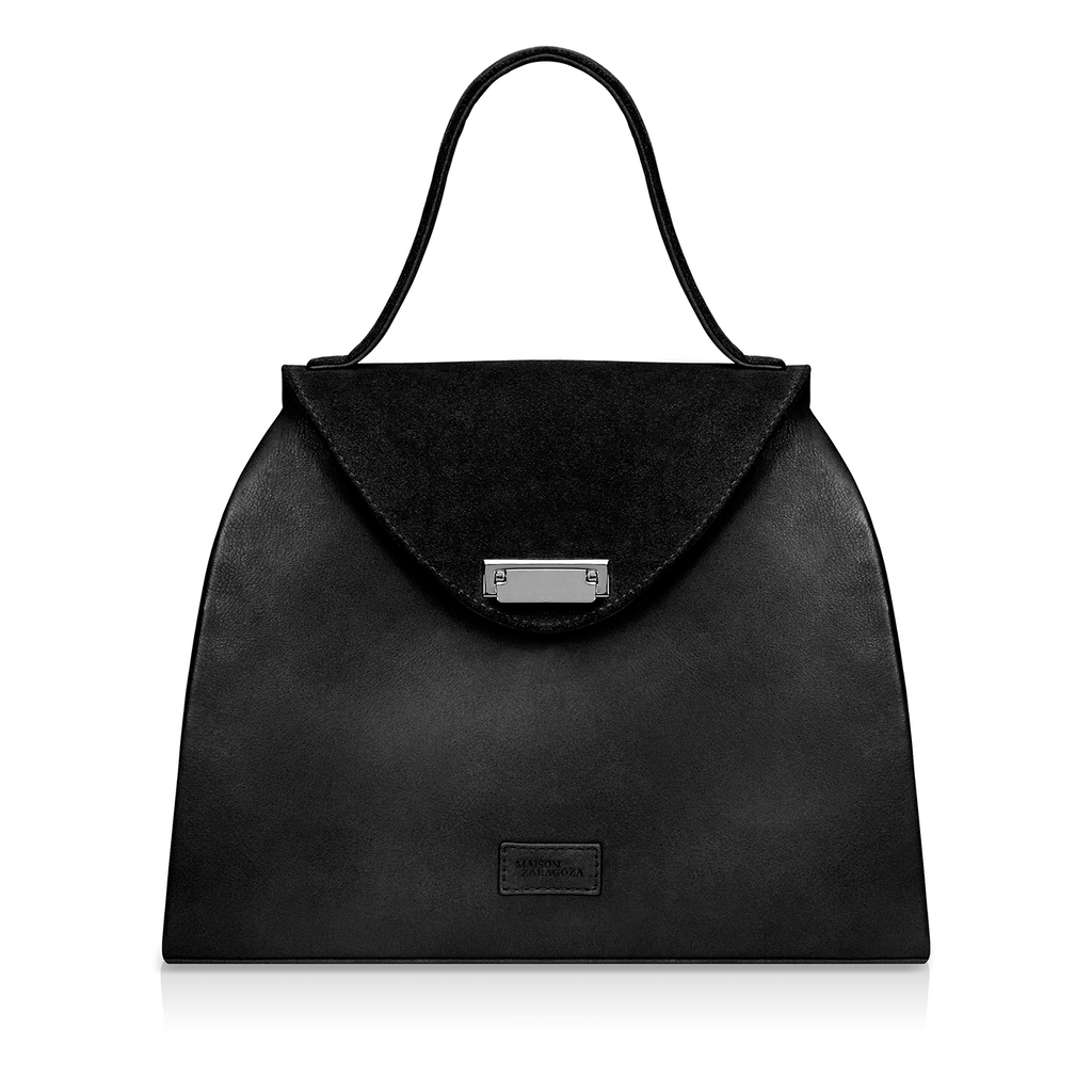Sofia Structured Satchel - Black