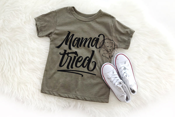 Mama Tried - Mommy + me set