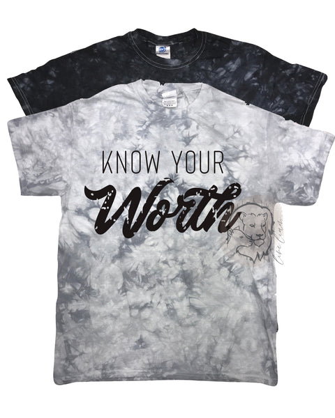 Know your Worth - Mineral Acid Dye