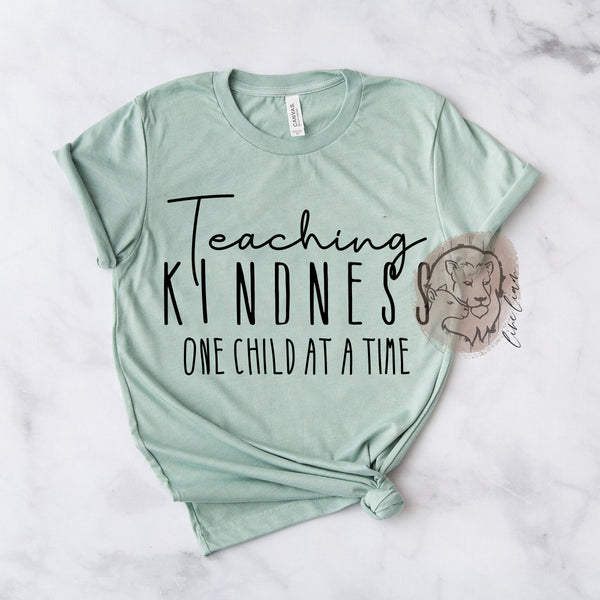 Teaching Kindness - Crewneck tee