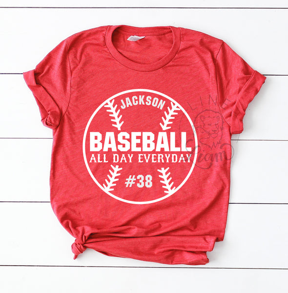 Baseball all day everyday - Crewneck