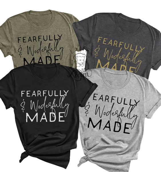 Fearfully and wonderfully made - Crewneck