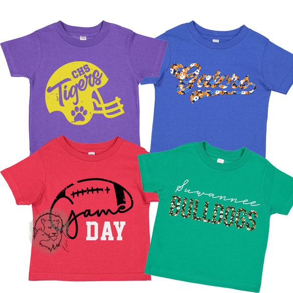 Kids Tees - Pick Your Team Colors!