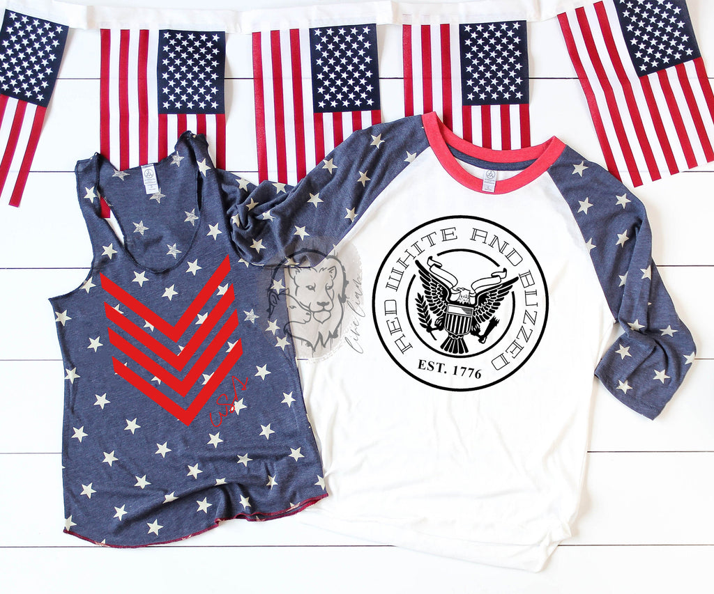 Red White and Buzzed - Patriotic Set