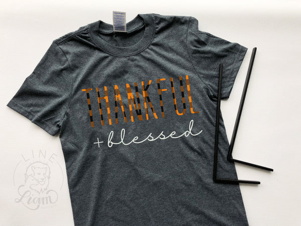 Thankful + Blessed RD Inspired tee