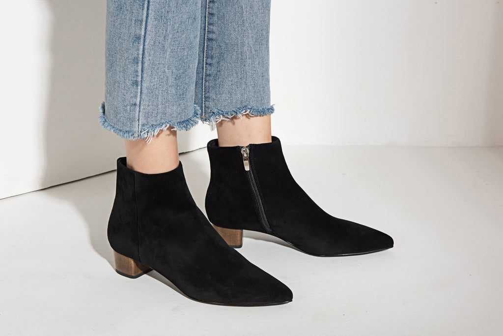 Wesley ankle boots in black