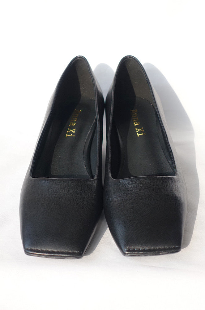 Gwen Square Toe Pumps