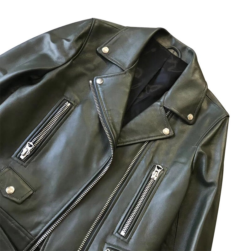 Luisa leather jacket