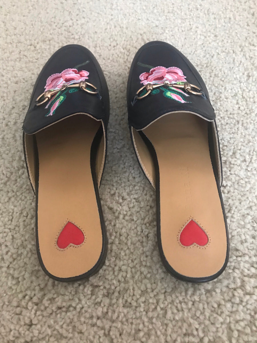 Rose slippers size 41 - Final Sale